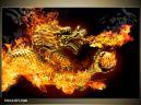 Moderný obraz o rozmere 120x80 cm s motívom ohňa