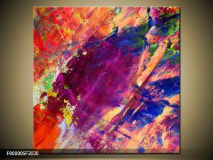 Moderný obraz o rozmere 30x30 cm s abstraktným motívom