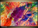 Moderný obraz o rozmere 90x60 cm s abstraktným motívom