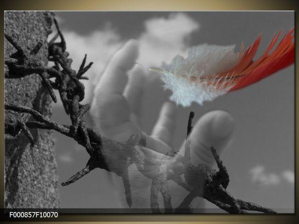 Moderný obraz o rozmere 100x70 cm s abstraktným motívom